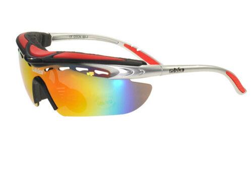Ski Glasses Fire Iridium Mirror Lens - PRESCRIPTION INSERT Inc. UK Seller
