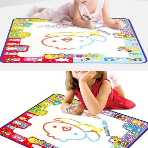 Kinder Magic Doodle Malmatte Matte wie Aqua Doodle Malen mit Wasser 78x78cm