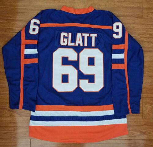 Doug The Thug Glatt Halifax Highlanders #69 Goon Movie Hockey Jersey S-XXXL