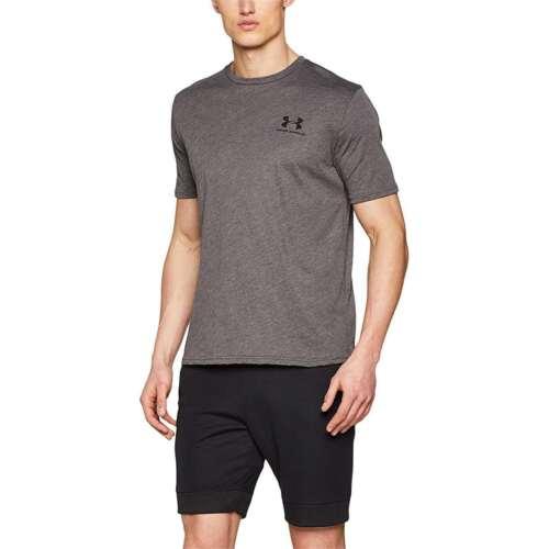 NEW Under Armour Men's Sportstyle Left Chest Logo Short Sleeve Crew Neck T-Shirt