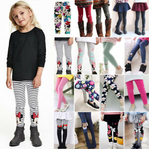 Kids-Baby-Girl-Leggings-Floral-Trousers-Toddler-Casual-School-Long-Pants-Clothes
