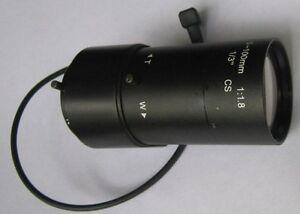 Objectif auto-iris 5-100mm Varifocal pour caméra de sécurité CCTV SSV05100GNB