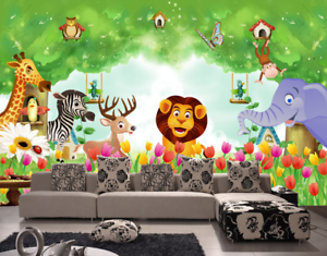 3D Animals 493 Wallpaper Murals Wall Print Wallpaper Mural AJ WALL AU Kyra