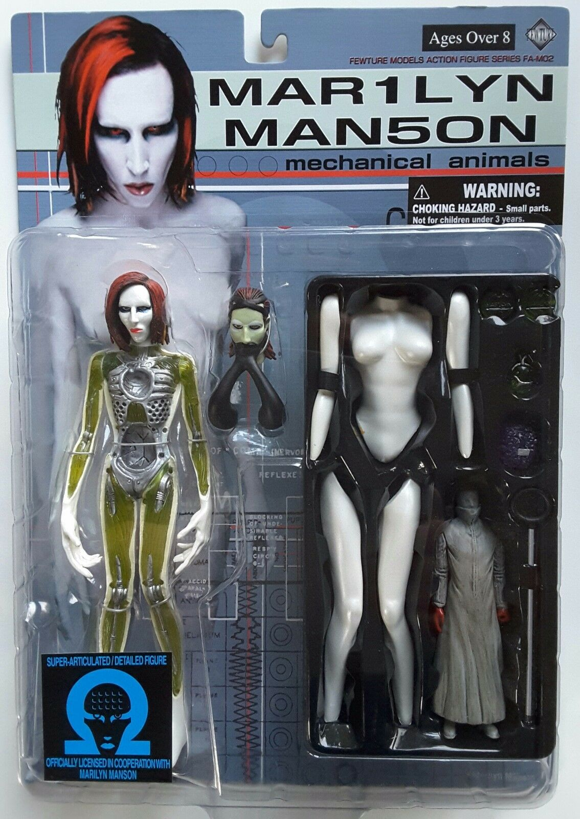 MARILYN MANSON Mechanical Animals Action Figure from The Dope Show - LAST ONE