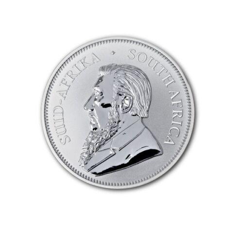 BU Krugerrand 2017 1 OZ Silver South Africa with certificate original capsule