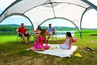 Event Shelter 4.5 X 4.5 M Camping Garden Patio Tunnel Dome Gazebo Tent Party