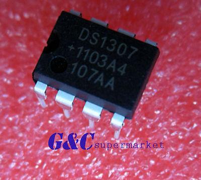 5PCS IC DS1307 DS1307N DIP8 RTC SERIAL 512K I2C Real-Time Clock NEW