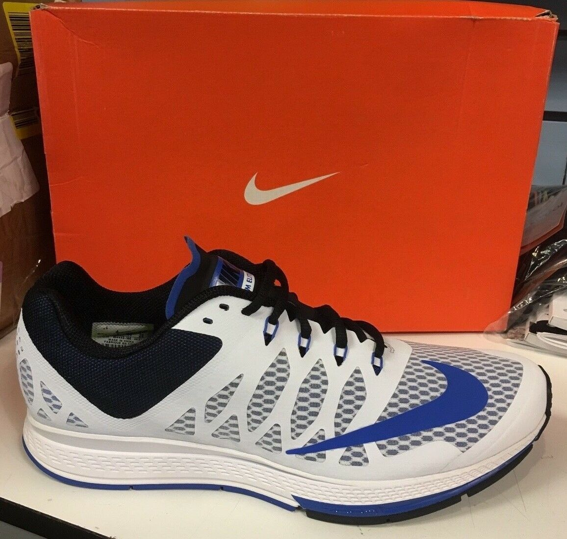 MENS NIKE ZOOM ELITE 7 654443 100 MENS 8.5