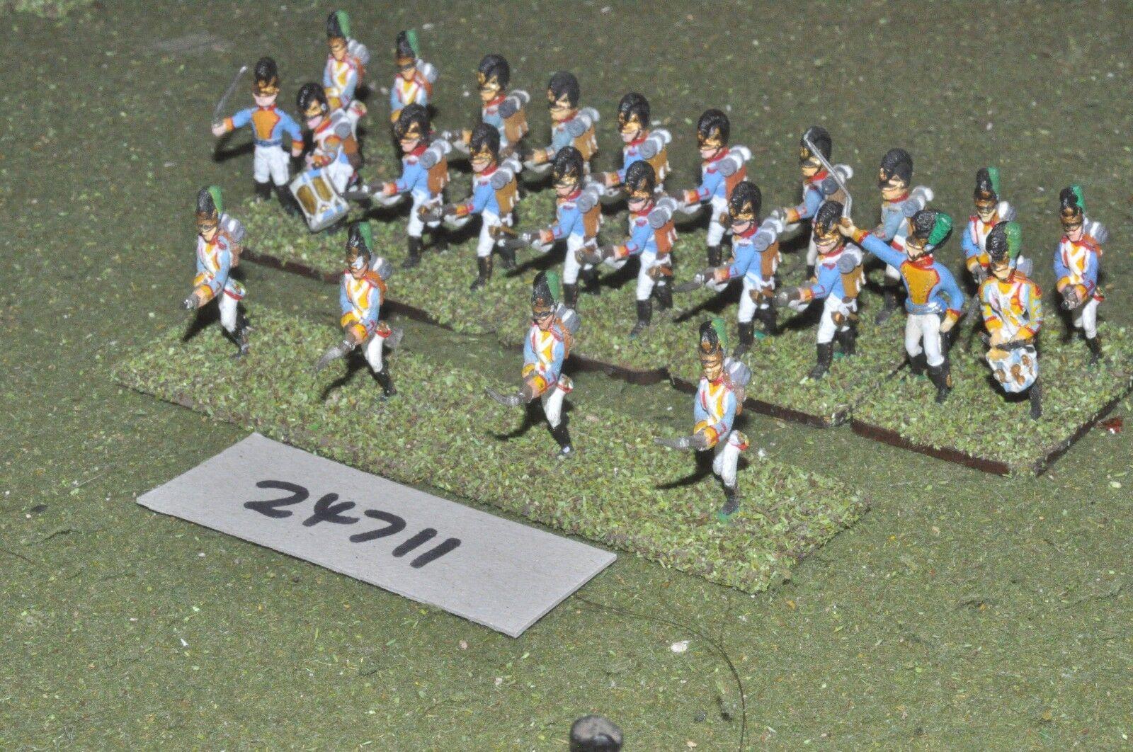 25mm napoleonic   bavarian - line 24 Figuras - inf (24711)