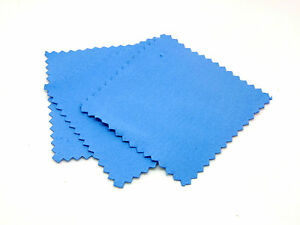 Blue-Suede-Fabric-Cleaning-Cloths-Polishing-Cloths-Jewellery-Craft-Tools-J87