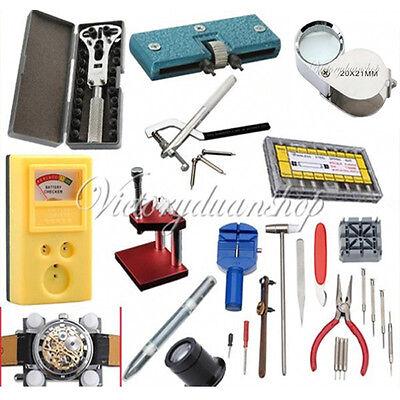 Uhrmacherwerkzeug Set Gehäusehalter-öffner Stiftausdrücker Uhren Federstege Öler