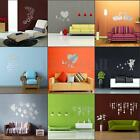 Removable DIY 3D Mirror Surface Wall Stickers Mural Art Living Room Home Decor