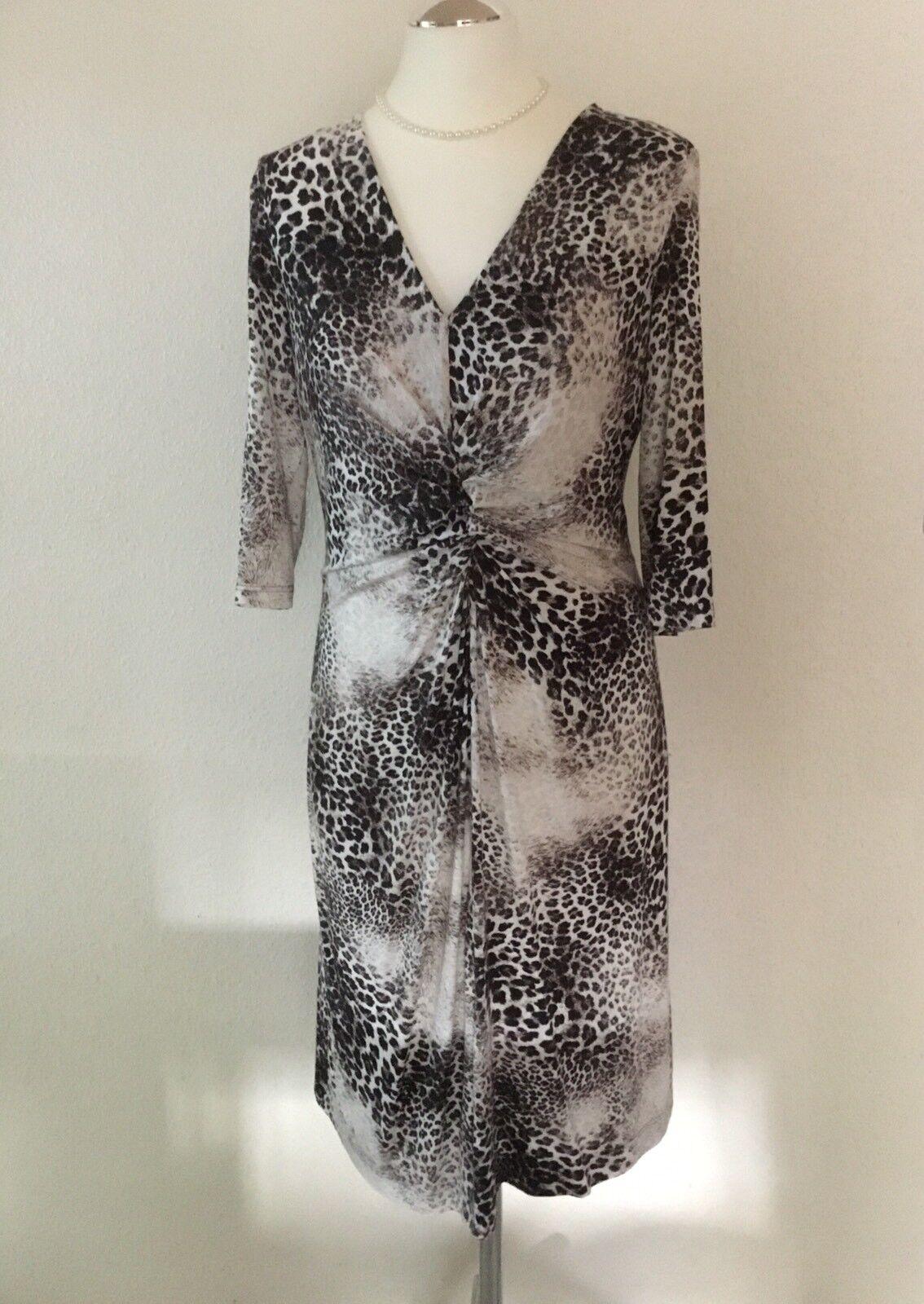 Jersey-Kleid HAUBER, Größe 40, Kitt