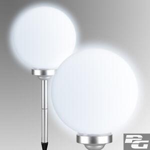 led solar kugelleuchte kugellampe au enleuchte garten licht kugel gartenlampe ebay. Black Bedroom Furniture Sets. Home Design Ideas