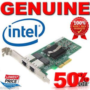 Genuine-Intel-DualPort-Gigabit-NIC-IBM-PRO1000PT-PCI-E-equivalent-DELL-HP-NC360T