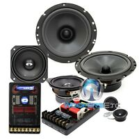 Cl-6e42 Cdt Audio 3-way Car Component Speakers 6.5 Midbass 4 Midrange 1 Tweet on sale