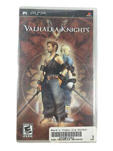 Valhalla Knights Sony Playstation Psp Complete In Box Cib B3 853466001032 Ebay