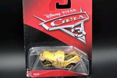 Cars 3 TACO DEMOLITION Mattel Disney Pixar SODDISFATTI O RIMBORSATI
