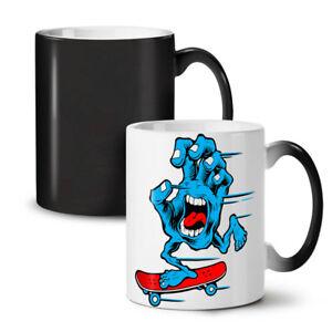 Skateboard Monster NEW Colour Changing Tea Coffee Mug 11 oz | Wellcoda