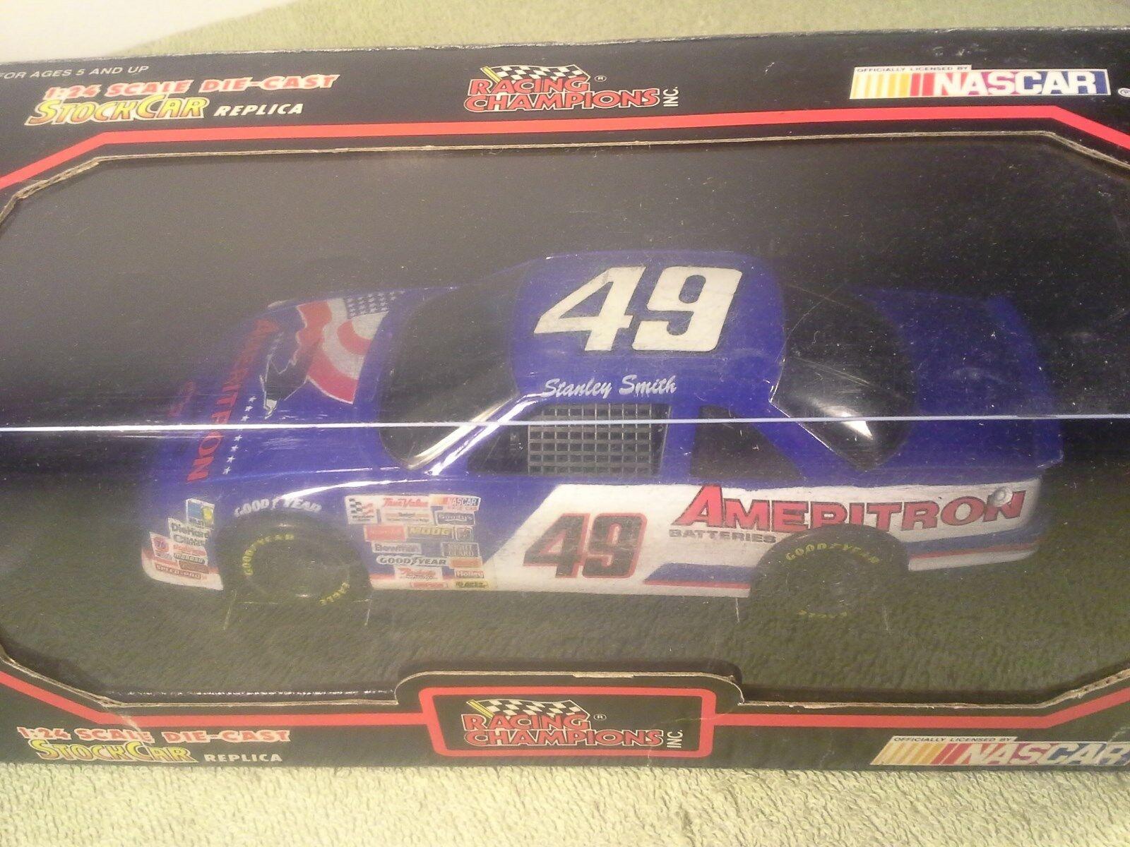 1992 Racing Champions STANLEY SMITH Ameritron Nascar 1 24 Diecast XTRA RARE