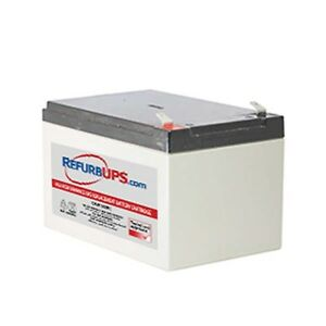 Power Sonic 12V 7Ah Battery Replaces APC Smart-ups 1500 2200 1000-10 Pack