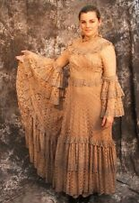 Edwardian Costume Victorian Fancy Dress Ladies Wedding Cosplay LARP Stage 34""