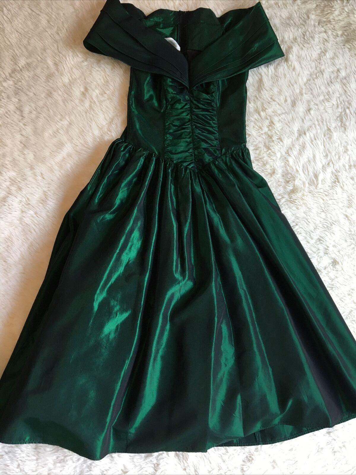 vintage jessica mcclintock gunne sax dress 80s Wo… - image 2