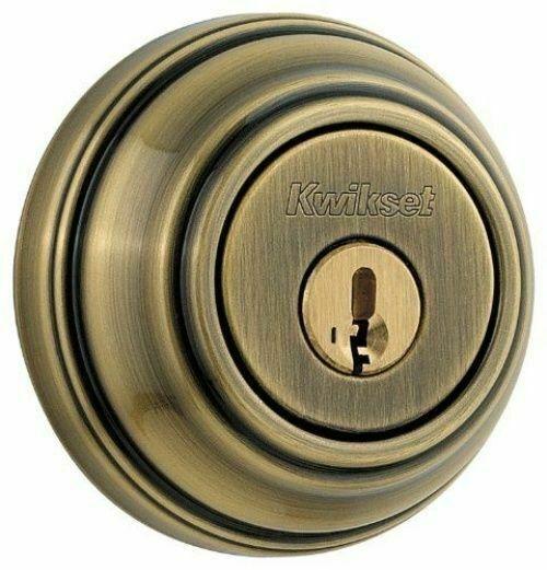 NEW Kwikset Lock Cylinders Silver Smart Key Lot Of 5 venetion bronze FINISH