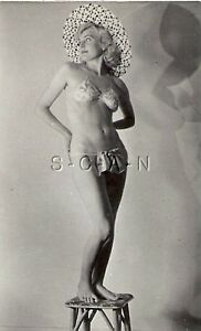 Classic nude vintage pinup regret, that