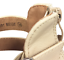 thumbnail 10 - Womens Ladies Beige Faux Leather High Heel Peep Toe Sandals Shoes Size UK 3 New