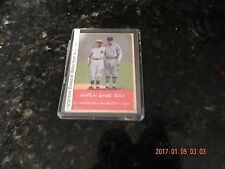 Japanese Baseball Babe Ruth & Eiji Sawamura 2012 Advertising Card