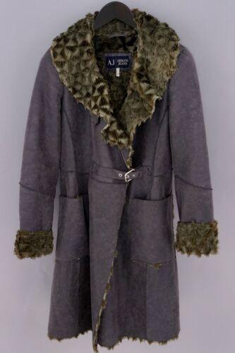 Women Armani Jeans Coat Business Formal Modacryl M