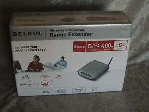 Belkin F5D7132 Range Extender Driver for Windows