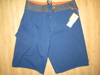 Quiksilver Boardshorts Shorts Swimsuit Men 30 Indo $52 Retail Blue