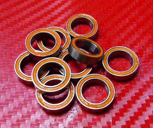Orange Gummi Verpackt Wälzkörper Laufwerke 13 10 Stück MR1319-2RS 13x19x4 mm