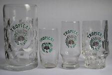 Lote Jarras-vasos-antiguos- Cerveza Tropical- Las Palmas- Islas Canarias