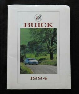 1994 BUICK FULL-LINE Press Kit MEDIA GUIDE PHOTOS 35mm SLIDES PARK AVENUE ULTRA
