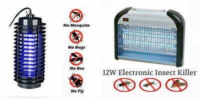 Industriale 4w 12w Elettrico Insetti Zanzare Vespe Mosche Pest Uv Ulteriori Sorprese