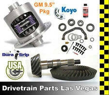 "Yukon Duragrip GM Chevy 9.5"" Limited Slip Posi Differential Gear Set Kit Package"