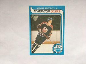 WAYNE GRETZKY 1979-1980 O-Pee-Chee OPC RC ROOKIE REPRINT WITH DOT