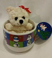 Mulberry Home Collection Christmas Mug w/ Teddy Bear Inside