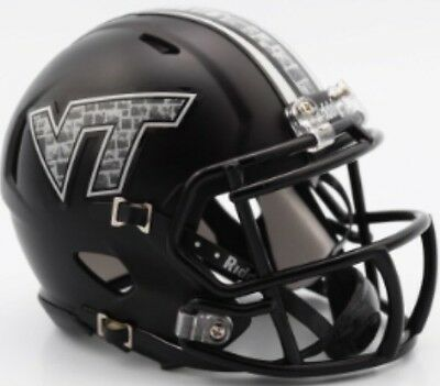 VIRGINIA TECH HOKIES Riddell Revolution SPEED Mini Football Helmet NCAA