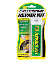 151 CYCLE  TYRE PUNCTURE REPAIR KIT WHEEL GLUE 5g, SANDPAPER ,CHALK, 5PATCHES