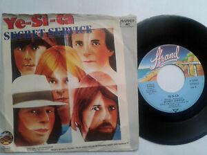 Secret-Service-Ye-Si-Ca-7-034-Vinyl-Single-1980-mit-Schutzhuelle