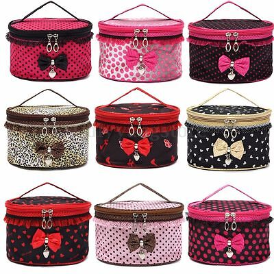 HOT Women Multifunction Travel Cosmetic Bag Makeup Case Pouch Toiletry Organizer