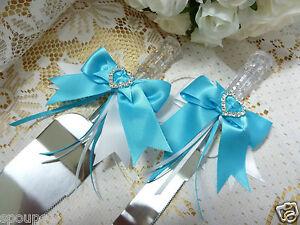 Image Is Loading Wedding Cake Server Set Knife Crystal Look Bow