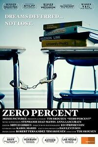 ZERO PERCENT - A film about Hudson Link  DVD