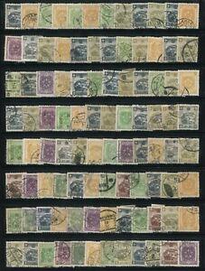 "ROC 1936 Japanese occupation of Northeast China ""Manchukuo"" 192 Stamps"