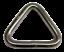 STAINLESS STEEL TRIANGULAR RING-TRIANGLE DELTA LINK 3mmx20mm webbing marine