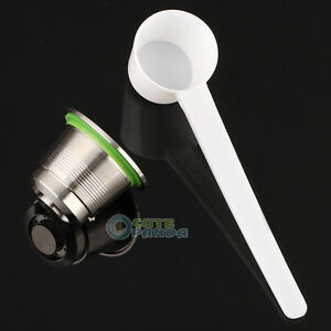 Nouvel-acier-inoxydable-Compatible-pour-Machine-a-cafe-Nespresso-rechargeables-Capsule-reutilisable